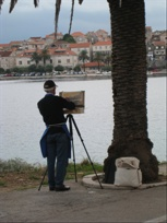 oil, acrylic, pastel, watercolour, watercolor, paint, painting, art, artist, workshop, holiday, korcula, croatia, slikamilina