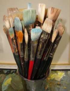 paint, oil, brushes, non-instructed, plein air oil painting, Slikamilina, tours, workshops, holidays