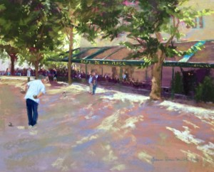 Jeanne Rosier Smith PSA, Pastel Workshop, tour, holiday, painting, plein air, slikamilina, Croatia, Korcula, art,