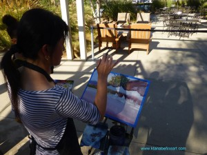 Watercolor tour, workshop, holiday, painting, art, slikamilina, keiko tanabe, watercolour